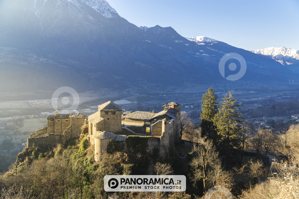 Castello di Quart all'alba