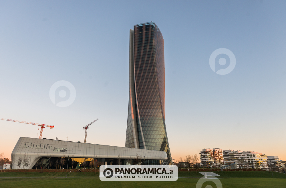 CityLife, Shopping District e Torre Generali