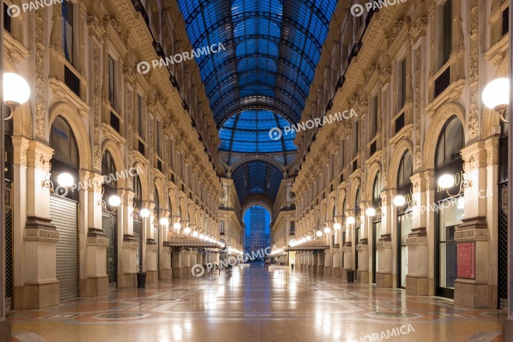 Interni della Galleria vista dall'alto