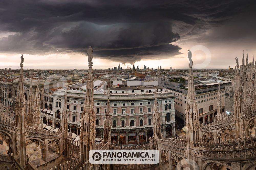 Immaginando un uragano a Milano
