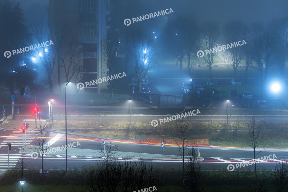 Nebbia in Via Castellamare