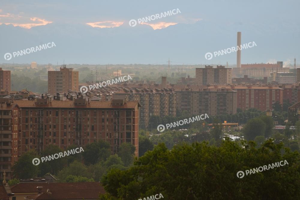 Quartiere di Lampugnano e Uruguay dall'alto